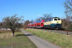 DB Regio 218 460 & 218 438, Sulzbach am Main 22.02.2018 (Trainspotting-Wiki) Tags: db 218 460 438 miltenberg aschaffenburg sulzbach am main