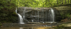 Wildcat Branch Falls....  Explore (Kevin Povenz Thanks for all the views and comments) Tags: 2018 july kevinpovenz southcarolina pickens waterfall river water scenic landscape panoramic pano canon7dmarkii trees outside outdoors longexposure