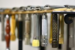 Razor bokeh (neica nimeni) Tags: macro nikon 55mm f28 ais double edge safety razors wet shaving