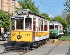 Carro inglês 247 (ernstkers) Tags: 247 288 315 bonde lightrail porto portugal stcp stcp247 stcp288 stcp315 tram tramvia tranvia trolley eléctrico strasenbahn spårvagn