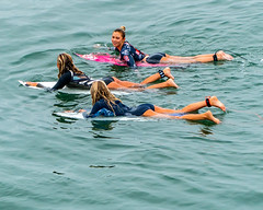 Hanging With The Girls (davidgibby) Tags: prosurfers progirlsurfers surfingbabes surfboards customsurfboards bigwavesurfing surfingpictures surfingphotography