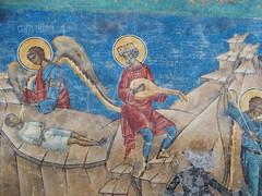 David (rgrant_97) Tags: nia bucovina monastery voronets frescoes blue