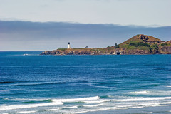 Heat Wave (Tom Fenske Photography) Tags: newport yaquinahead lighthouse ocean sea water tide beach oregon