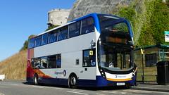 Bigger Batten Bus (londonbusexplorer) Tags: stagecoach south west adl enviro 400 mmc 10462 sn65nzv 2 mount batten saltash bus buses