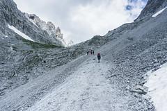 Aufstieg zum Ellmauer Tor (Uli - www.auf-den-berg.de) Tags: wandern hiking berge mountains outdoors ellmauertor wilderkaiser kaisergebirge tirol tyrol austria