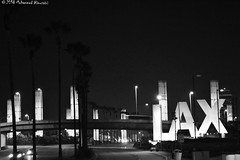 LAX Airport مطار لوس أنجلس (Mohammed Almuzaini) Tags: california usa losangeles lax sign airport