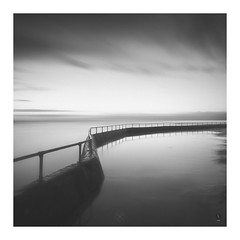 Flooded (picturedevon.co.uk) Tags: shoalstone pool brixham torbay devon bw blackandwhite mono le longexposure fineart minimal sunrise summer seascape water sky sea refelection wall clouds tide canon ndfilter nisi wwwpicturedevoncouk