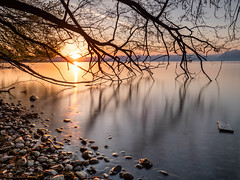 Morges sunrise (hirschmann.photography) Tags: morges spring sunrise vaud gndsoft nd10 léman cpl lakegeneva nisi switzerland