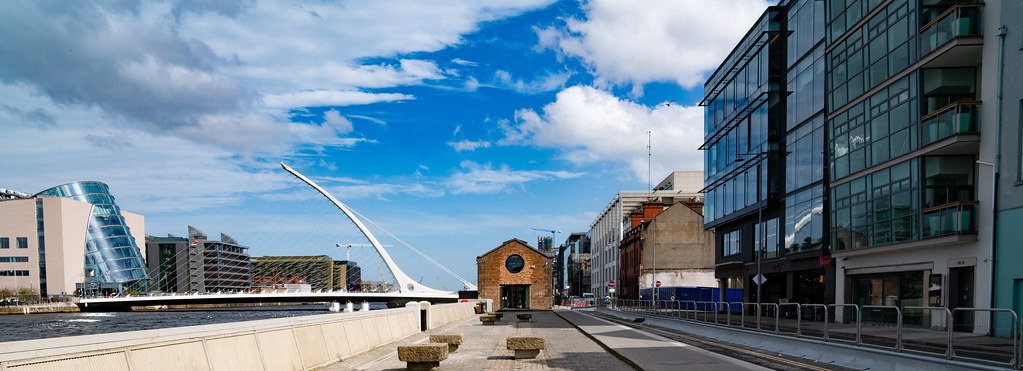 VIEWS OF THE SAMUEL BECKETT BRIDGE [APRIL 2018]-138417