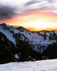 Sundown in the alps ⛰ (volkerrastel) Tags: peak mountain valley alpine range pass mountainside wandern sonnenuntergang subset hiking bavarian alps