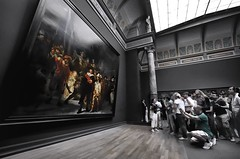 Failure to View (2Colnagos) Tags: museum art painting cameras phones onlookers view masterpiece capture technology europe rijksmuseum rijks netherlands rembrandt photography
