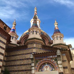 Eglise Sant Romà - Lloret de Mar - Espagne (Jean Paul Renais) Tags: église catalan gothique lloretdemar catalogne