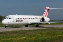 Volotea / B712 / EC-MEZ / LFRS (_Wouter Cooremans) Tags: nte nantes atlantique aeroport airport spotting spotter avgeek aviation airplanespotting volotea b712 ecmez lfrs b717