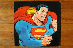 Superman Musical Stories Record Back Cover ( Tifton 1966 ) (Donald Deveau) Tags: record lp vinyl album superhero superman tifton dccomics
