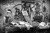 Tout à 1 euro !!! (Des.Nam) Tags: nb noiretblanc noirblanc nordpasdecalais nord bw blackwhite brocante monochrome mono street streetphotographie fuji fujinon fujifilmxpro1 xprostreet 35mmf14 desnam photoderue tag