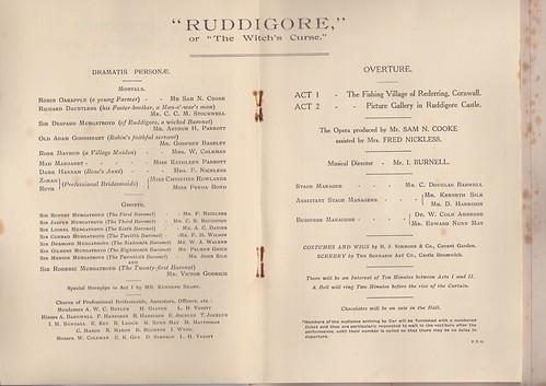 1928: Jan Programme 3