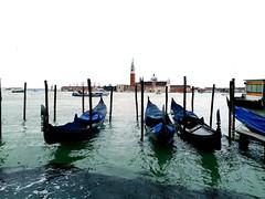 Gondola of Venice (stardex) Tags: gondola boat sea venice italy building architecture