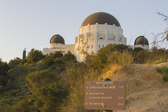 Observatory Hiking Trails (aaronrhawkins) Tags: griffithobservatory trail hike losangeles hollywood observatory sign evening spring sunset california southern aaronhawkins
