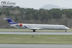 SAS Scandinavian Airlines - EI-FPP - 'Olver Viking' - 2018.04.17 - ENZV/SVG (Pål Leiren) Tags: stavanger sola norway svg enzv flyplass airport planes plane planespotting aviation aircraft runway rw airplane canon7d 2017 airliner jet jetliner april april2018 olver viking sasscandinavianairlines eifpp olverviking sas scandinavian airlines flysas bombardier cl6002d24crj900lr crj9 cityjet