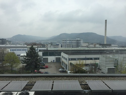 Jena: View from Ernst-Abbe-Hochschule campus