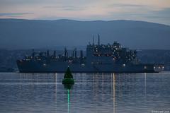 USS William McLean (T-AKE-12), IMO 9552006; Clyde anchorage, Scotland (Michael Leek Photography) Tags: ship usn unitedstatesnavy msc militarysealiftcommand newjersey warship replenishmentship clyde clydeanchorage hmnbclyde firthofclyde greenock scotland nato natoexercise natowarships vessel scottishshipping scottishlandscapes scottishcoastline jointwarrior jointwarrior2018 navy americannavy scotlandslandscapes michaelleek michaelleekphotography invercylde glasgow