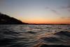 Waves reflecting the sunset glow (danielhast) Tags: madison sunset lake mendota water sky lakemendota