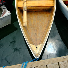 skiff (jtr27) Tags: dscf9873 jtr27 fuji fujifilm xt20 xtrans xf 1855mm f284 rlmois lm ois rowboat skiff dory freeport maine newengland sooc jpg wooden oars tender dinghy