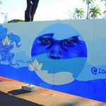 Ação cultural transforma Praça da Liberdade em galeria de arte a céu aberto thumbnail