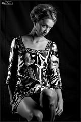 Erica  5403 (newspaper_guy Mike Orazzi) Tags: erica ©mikeorazzi portrait strobist d700 cybersync ab800 blonde strobe flash legs sexy hot shortdress flashphotography