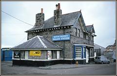 Highland fling (david.hayes77) Tags: mallaig scotland nationalcarrierslimited britishrailways scottishregion westhighlands station building 1977 history minivan
