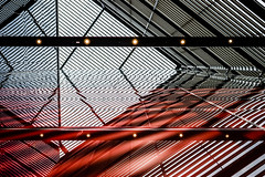 Abstract Photography #37 (Sean Batten) Tags: london england unitedkingdom gb europe morelondon abstract architecture reflection red city urban nikon df 35mm