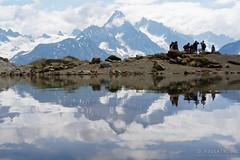 20180717-12-Reflections in Lac Blanc (Roger T Wong) Tags: 2018 alps france lacblanc montblanc rogertwong sel2470z sony2470 sonya7iii sonyalpha7iii sonyfe2470mmf4zaosscarlzeissvariotessart sonyilce7m3 tmb tourdumontblanc bushwalk hike lake mountains outdoors reflection tramp trek walk water