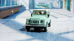 1:76 Scale Diecast Model Land Rover Defender 90 Heritage By Oxford Diecast Limited Swansea Wales United Kingdom 2017 : Diorama GT4 Showroom - 3 Of 14 (Kelvin64) Tags: 176 scale diecast model land rover defender 90 heritage by oxford limited swansea wales united kingdom 2017 diorama gt4 showroom