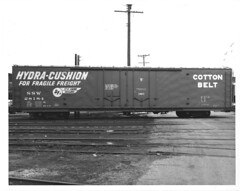 6100003 (barrigerlibrary) Tags: acf americancarandfoundry box car sp ssw cotton belt southernpacific