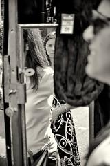 Reflection at Portobello Street Market (La nesto de la lango) Tags: calles londres portobello espejo mercado vacaciones verano viajes london streetmarket streets reflections