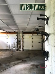 Chandelier in the garage...and this is just the coach house. (neilsharris) Tags: abandonedchicago
