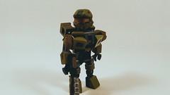 LEGO Master Chief (Jesusfreak110102) Tags: lego halo master chief spartan minifig minifigure