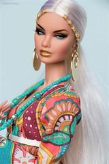 Phychedelic feeling (YOKO*DOLLS) Tags: erin doll fashionroyalty nuface convention boho barbie blonde