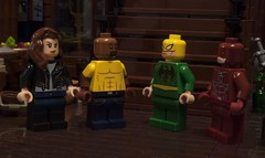 The Defenders (Ben Cossy) Tags: defenders netflix daredevil luke cage power man matt murdock danny rand iron fist jessica jones purist custom marvel mcu comicbook comic lego afol tfol