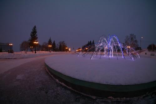 2015-01-16 Зимний фонтан ©  RusXD