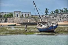 Approaching Mozambique Island