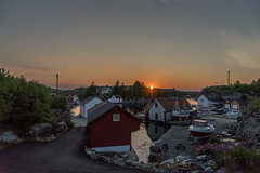 Sunset (★ANDMIK★) Tags: sunset rong sotra norway sonyalpha7ii sony alpha 7 ii sunlight water boats