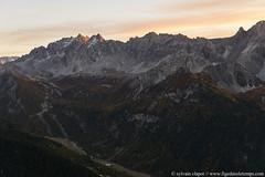 DSC_5690 (www.figedansletemps.com) Tags: queyras crêteduchâteaujeangrossan ceillac montagne mountain alpes alps france hautesalpes coucherdesoleil night nocturne milyway automne autumn mélèze sunset