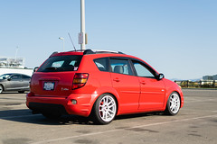 DSC_0691 (jaytotheveezy) Tags: pontiac vibe base lava red 1zz work crkai kiwami ultimate bcracing coilovers toyo tires genvibe