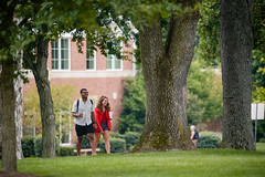 First Day of Classes 2017 (Centre College) Tags: 2017 academics campus classchange day diversity firstdayofclass happy outside studentlife students topshot walking danville kentucky unitedstates usa