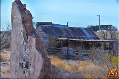 Ruins Ghost Town (Joe Grossinger) Tags: adobe ruin ghost town steains joe grossinger