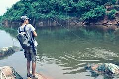DSC_0235 (photogonia) Tags: ningyu catch caught yellowcheek carp 鳡鱼 fishing flyfishing tip bait cina hunan huaihua simms freshwater xiangxi lake