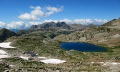 lac de Terre rouge et pistes de ski d'Isola 2000 (b.four) Tags: montagna mountain montagne lac lago lake isola2000 hautetinée alpesmaritimes coth5