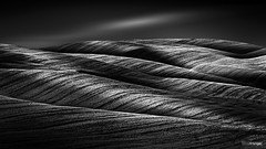 Waves (v.3.0) (Holger Glaab) Tags: tuscany travel landscape fields waves blackandwhite blackwhite monochrome fineart