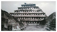 Pyramid of the Niches (plismo) Tags: pyramidoftheniches eltajin mexico pyramid tajin veracruzllave plismo building mesoamerica structure stairway construction